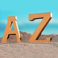 letras maiúsculas em inglês