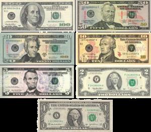 Notas de dólares