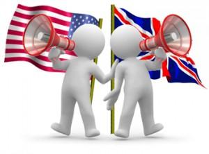 ingles britânico e americano - diferenças