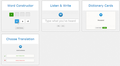 Learning options - Speechyard
