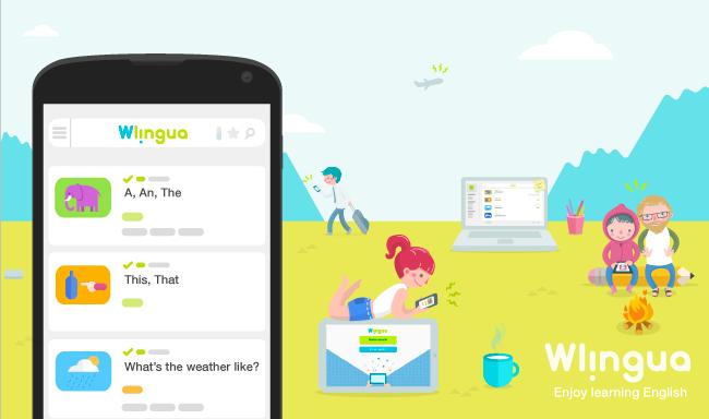 Wlingua - app ingles