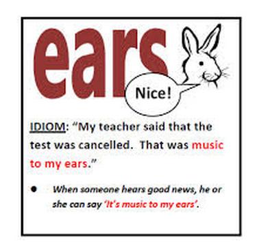 idioms sobre musica em ingles
