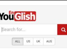 YouGlish - aprender inglês com vídeos