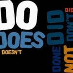 Usando DO em frases afirmativas