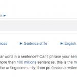 Site para achar palavras em frases