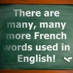 30 palavras francesas usadas na língua inglesa (com pronúncia)