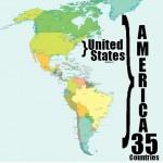 É correto chamar quem nasce nos EUA de americano?