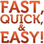 """Qual a diferença entre """"quick"""" e """"fast""""?"""