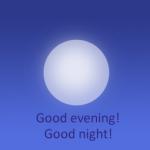 Qual a diferença entre evening e night?