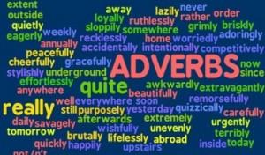 posição dos advérbios em inglês